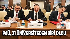 Türkiye'de 21 Üniversiteden Biri PAÜ Oldu