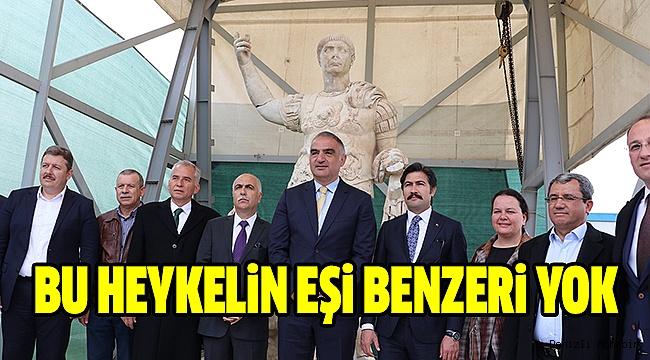 "BAKAN ERSOY ""LAODİKYA EFES STANDARTLARINA ÇIKARILACAK"""