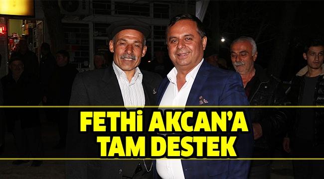 CHP'Lİ KÖSE'DEN AKCAN'A DESTEK
