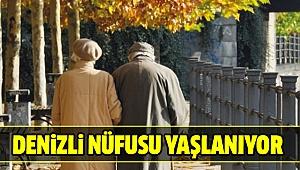 DENİZLİ'DE EN YAŞLI NÜFUSTA 28. SIRADA