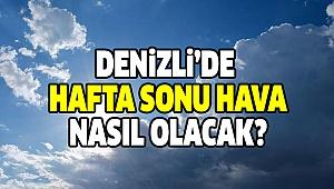DENİZLİ'DE HAVA DURUMUNA DİKKAT!