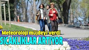 DENİZLİ'DE HAVALAR ISINIYOR