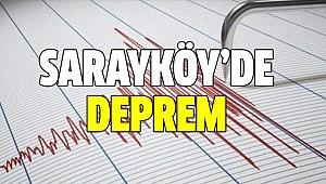 DENİZLİ'DE KORKUTAN DEPREM