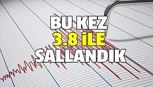 DENİZLİ'DE YİNE DEPREM