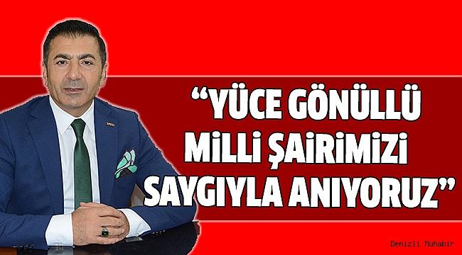 ERDOĞAN MEHMET AKİF ERSOY'U ANDI