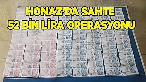 HONAZ'DA SAHTE 52 BİN LİRA OPERASYONU