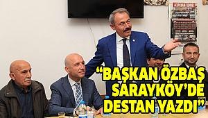 TİN'DEN ÖZBAŞ'A TAM DESTEK