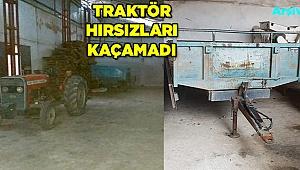 6 Traktör hırsızı uyuşturucuyla yakalandı
