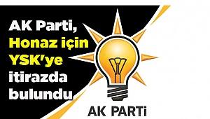 AK Parti, Honaz için YSK'ye itirazda bulundu