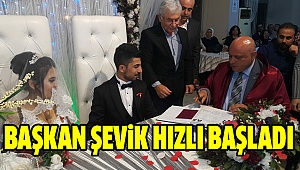 Başkan Şevik'in Yoğun Hafta Sonu Mesaisi