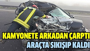 Denizli-Antalya Yolu'nda Korkutan Kaza
