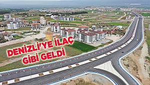DENİZLİ'YE İLAÇ GİBİ GELDİ