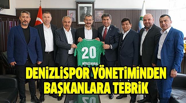 Denizlispor Yönetimi İlçe Başkanlarını Ziyaret Etti.