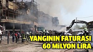 Fabrika yangınının bilançosu belli oldu