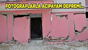 Fotoğraflarla Acıpayam depremi...