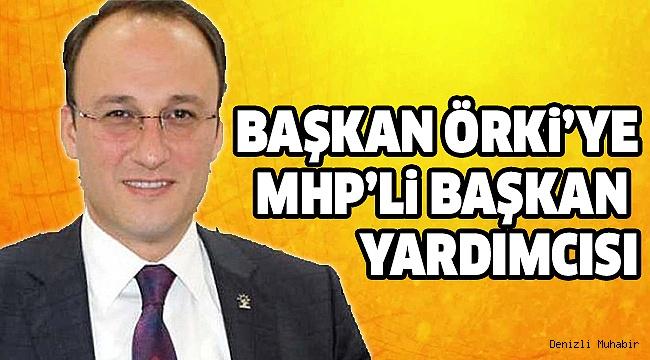 MHP'li Eskin Başkan Yardımcısı Oldu