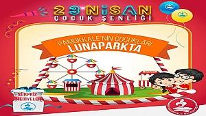 Pamukkale'nin Çocuklarına Ücretsiz Lunapark Bileti
