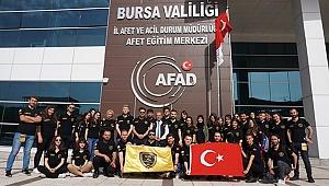 PAÜ DAK Bursa'da Eğitim Aldı