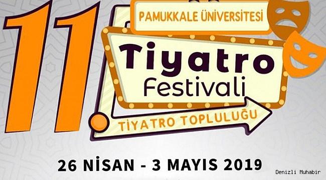 PAÜ'de 11. Üniversitelerarası Tiyatro Festivali Başladı