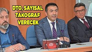 SAYISAL TAKOGRAF ARTIK DTO'DAN DA ALINABİLİYOR