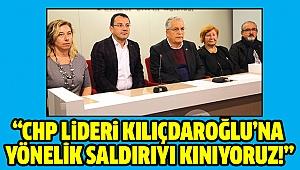 TMMOB'dan Kılıçdaroğlu'na yönelik saldırıya kınama
