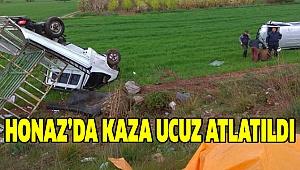 YAĞMUR KAZAYI BERABERİNDE GETİRDİ