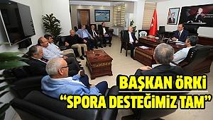 ASKF Yönetimi Örki'yi Ziyaret Etti