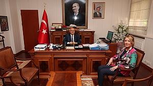 Başkan Doğan, Kaymakam Balcıoğlu'nu Ziyaret Etti