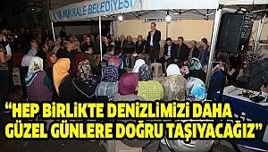 Başkan Örki Ramazan'a Dokuzkavaklar'da Girdi