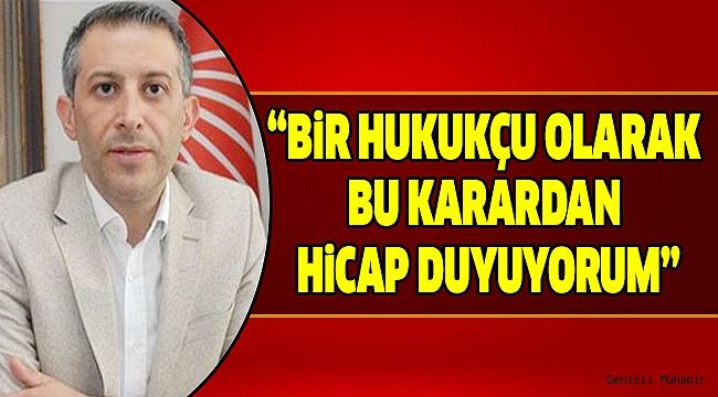 CHP İl Başkanı Akbaba'dan Sert Sözler