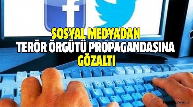 Çivril'de Sosyal Medyada Terör Propagandası