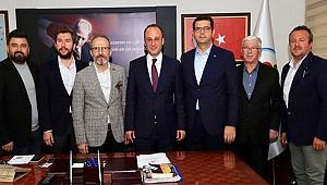 DENİB'den Başkanı Örki'ye Ziyaret