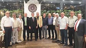 Denizli ASKF, TASKK Genel Başkanı Ali Düşmez'i Ağırladı