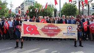 Denizli'de 15 Mayıs Milli Mücadele Günü kutlandı