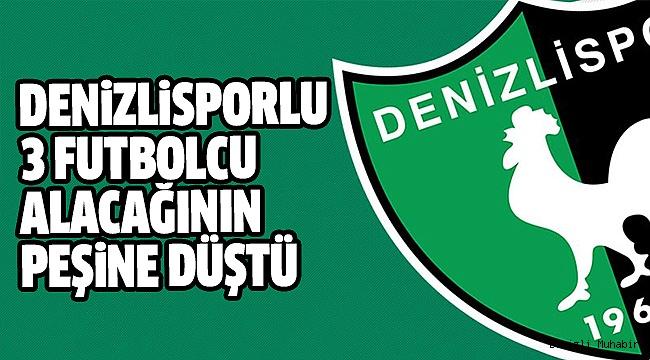 Denizlisporlu 3 Futbolcu TFF'ye Başvurdu