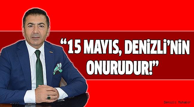 Erdoğan'dan 15 Mayıs Mesajı