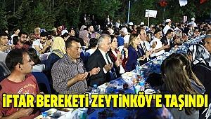 Gönül Sofrası Bu Kez Zeytinköy'e Kuruldu