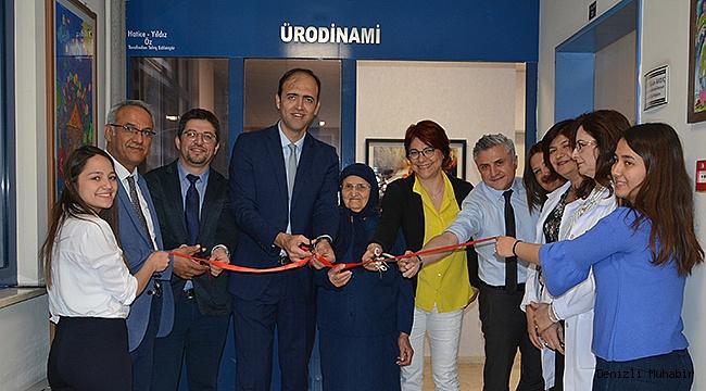 Hayırsever Öz'den PAÜ Hastanesine bir bağış daha
