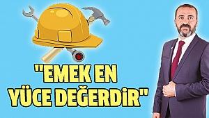 İYİ Parti Pamukkale İlçe Başkanı Çobanoğlu'ndan 1 Mayıs Mesajı