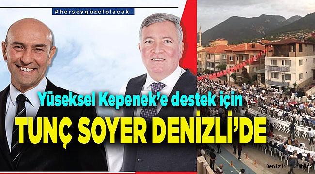 İzmir BB Başkanı Tunç Soyer, Denizli'de