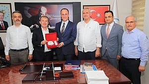 Kızılay'dan Başkan Örki'ye Ziyaret