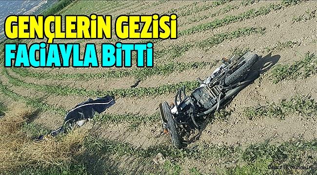 Merkezefendi'de Motosiklet Kazası: 1 Ölü, 3 Yaralı