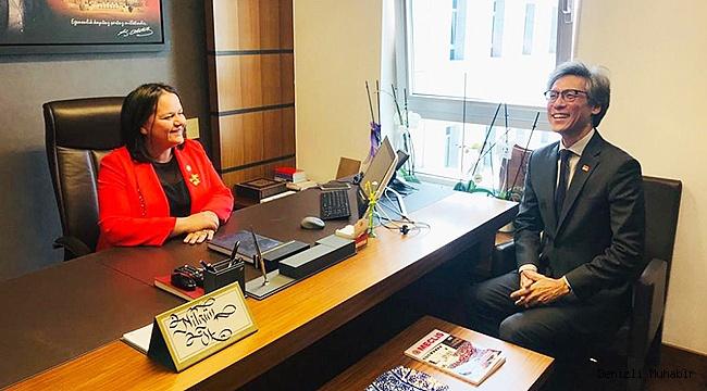 Milletvekili Ök Singapur Büyükelçisi'ni Ağırladı