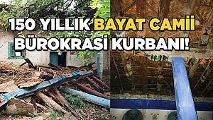Osmanlı yadigârı tarihi cami yok oluyor!