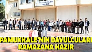 Pamukkale Belediyesi'nden Davulculara Eğitim
