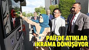 "PAÜ'den ""Atıkmatik Projesi"""