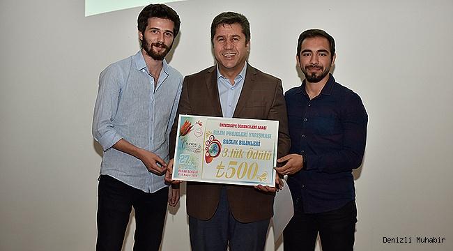 PAÜ FTR Yüksekokulu Öğrencileri Bilim Projeleri Yarışması'nda 3. Oldu