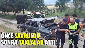 Sarayköy'de Kaza Ucuz Atlatıldı:3 Yaralı