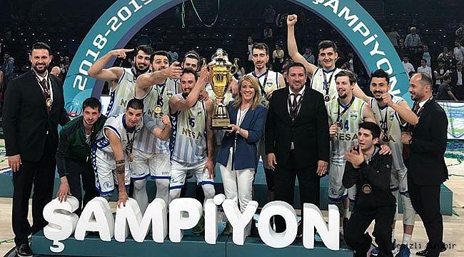 TB2L'de şampiyon Merkezefendi BelediyesiDenizliBasket
