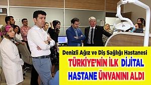 Türkiye'nin ilk Dijital Hastanesi Denizli'de